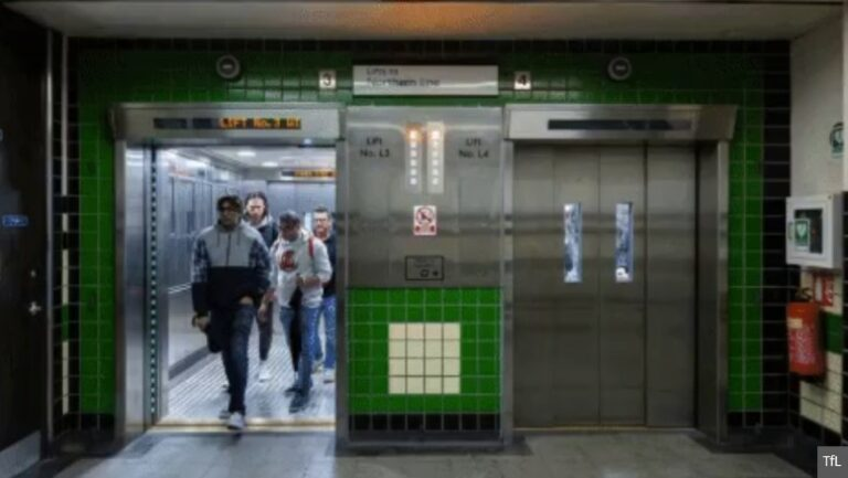 Goodge Street station lift replacement complete