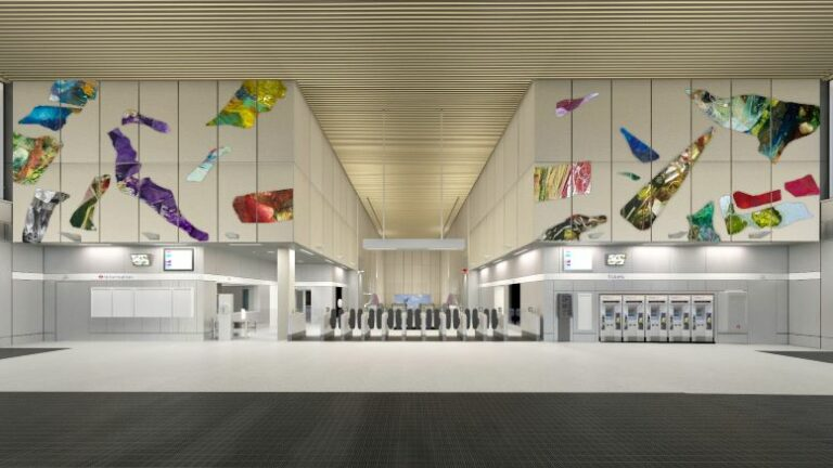 New Art on the Underground planned for the Northern line extension.