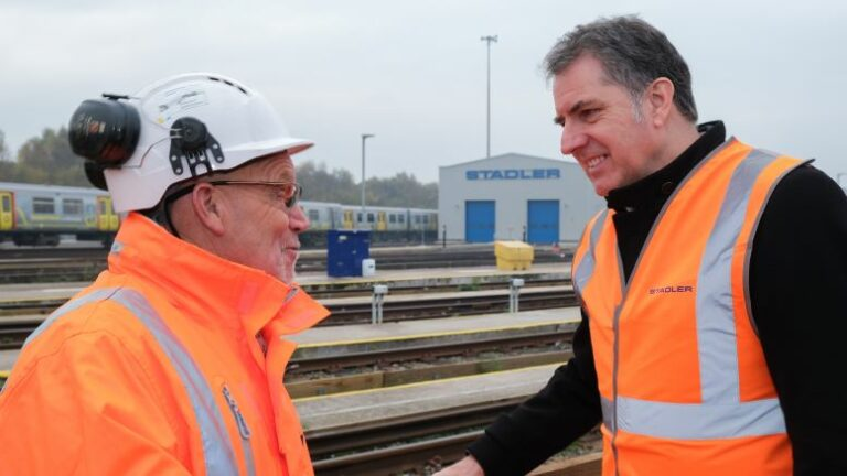 Mayor visits completed Kirkdale depot in Liverpool