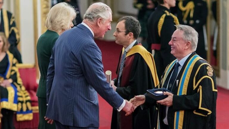 Huddersfield's Institute of Railway Research awarded a Royal prize