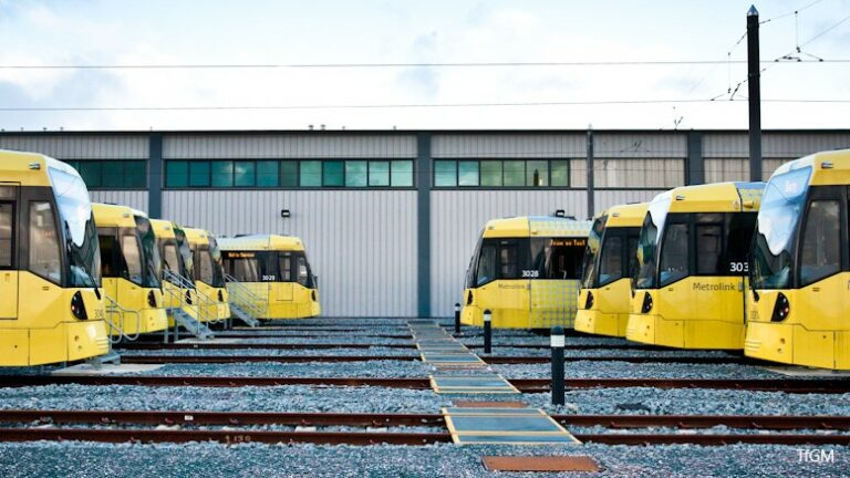 Tram and light rail usage falls in 2019/20