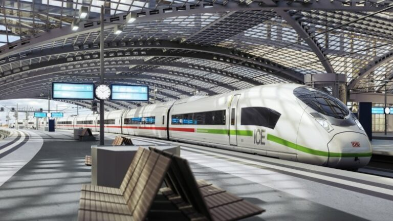 Siemens wins order for 30 new high-speed trains for Germany.