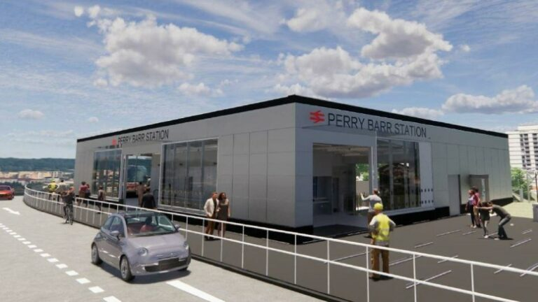 Plans for new Perry Barr station go for approval