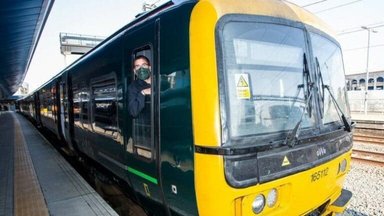 Three trains an hour on North Downs line