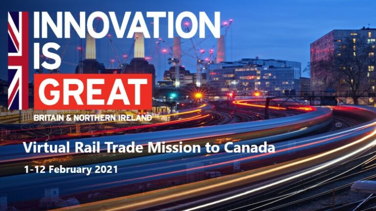 First 'virtual' railway trade mission will be to Canada