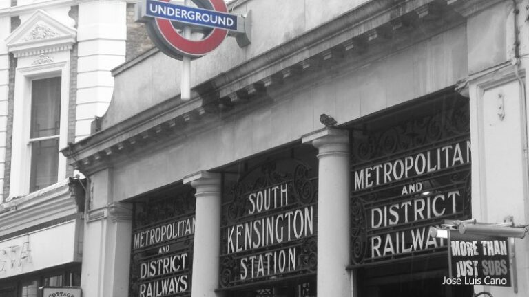 Piccadilly line trains won't stop at South Kensington for a year
