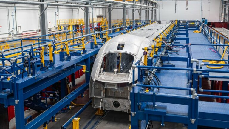 Hitachi adds welding facility to Newton Aycliffe factory