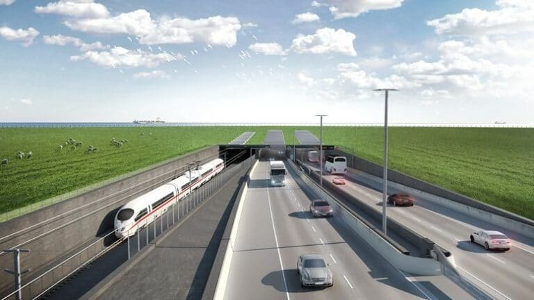 Geotechnical investigation completed for world's longest immersed tunnel