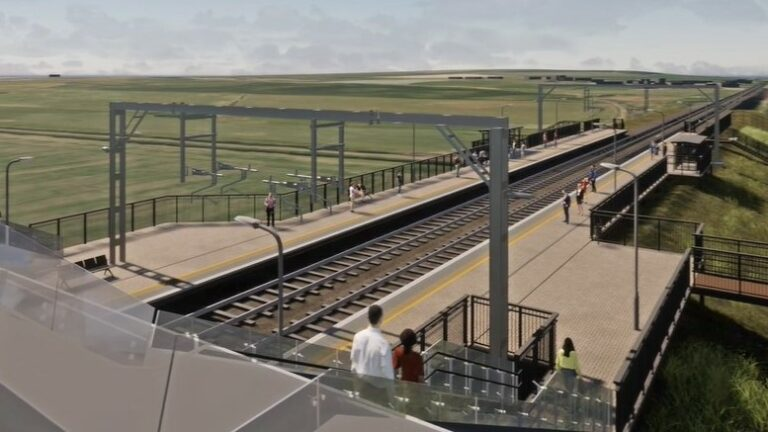 Construction of Scotland's next new station begins