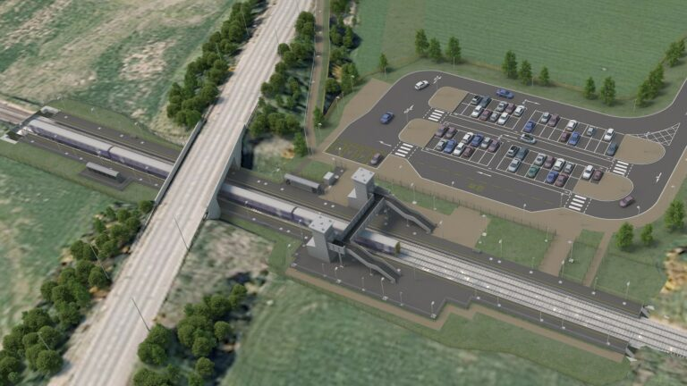 Inverness Airport station obtains planning consent