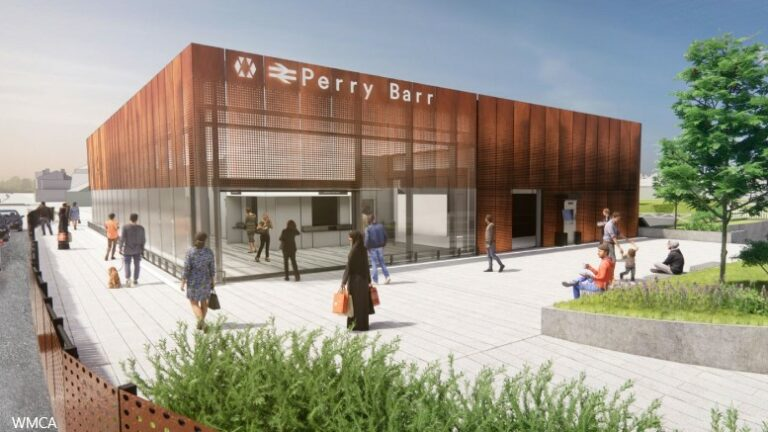 Perry Barr station demolished for redevelopment
