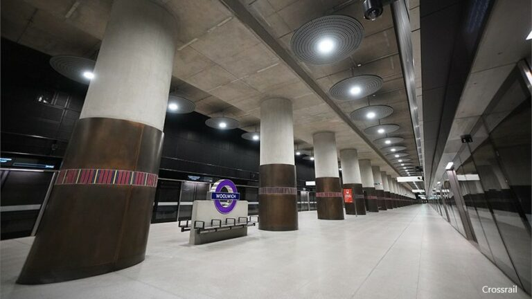 Elizabeth line station at Woolwich transferred to TfL