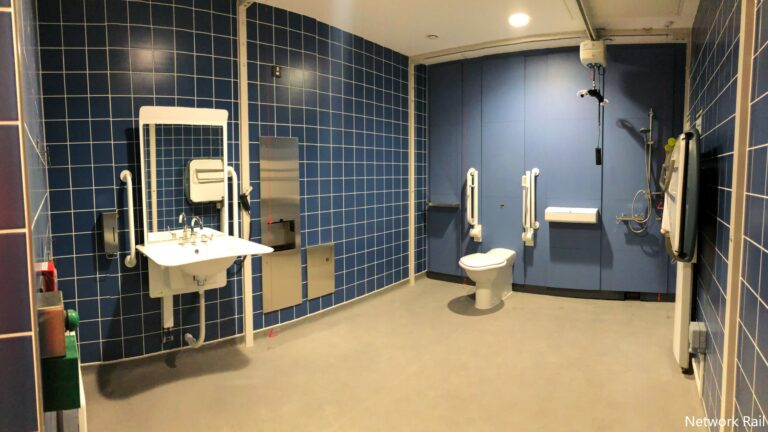 Changing Places toilet opens at London Euston