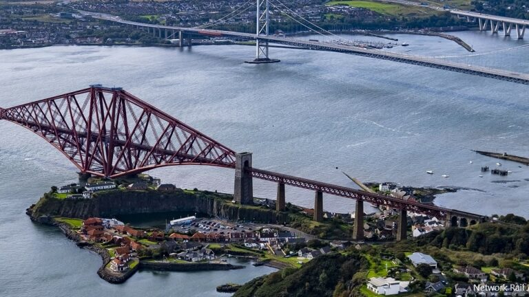 Renovation of Forth Bridge approach span gets underway