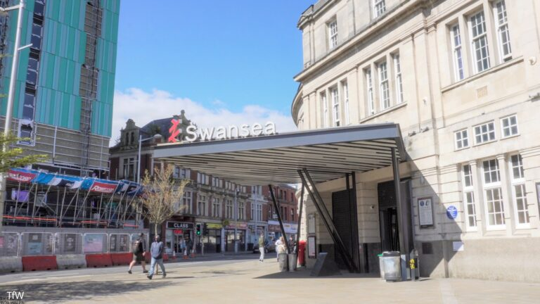 Swansea station upgrade complete