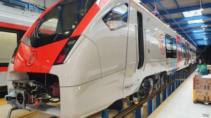 South Wales trains start testing in Europe