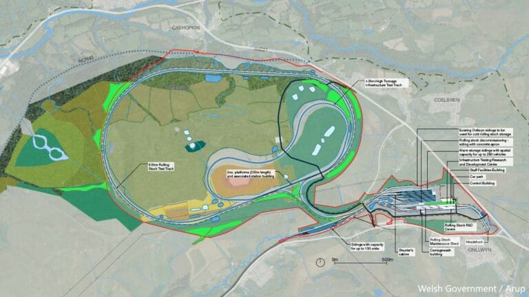 Plans approved for state-of-the-art rail testing centre