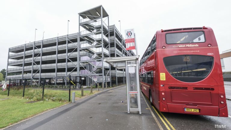 New Longbridge station park and ride opens
