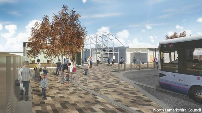 Motherwell station enters phase three of redevelopment