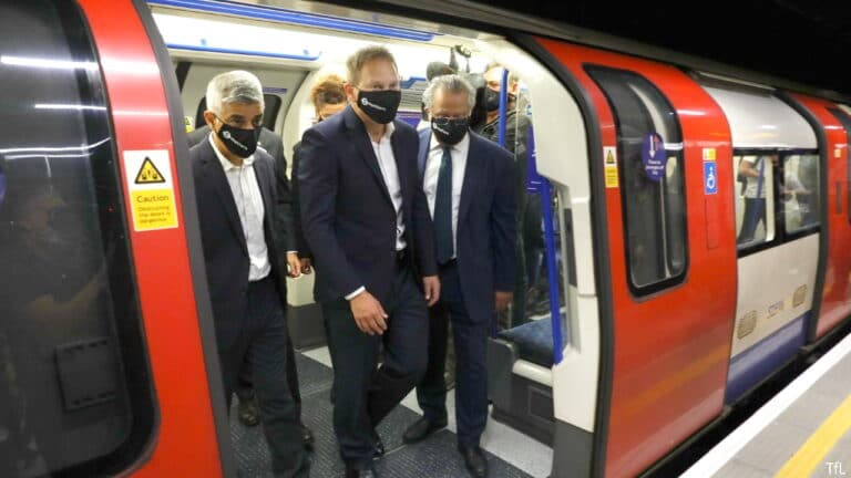 London's Northern line extension opens